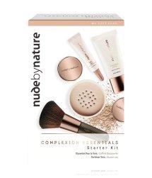 Nude by Nature Complexion Essentials Zestaw do makijażu twarzy