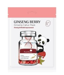 PureHeal's Ginseng Berry Maseczka w płacie