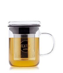 Teatox Glass Tea Mug Akcesoria do herbaty