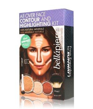 bellápierre All Over Face Highlight & Contour Kit Zestaw do makijażu twarzy