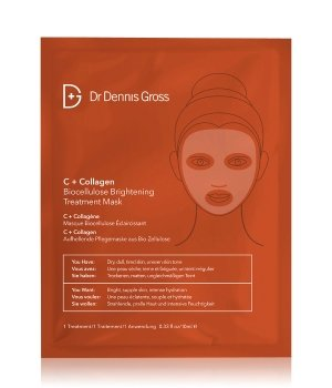 Dr Dennis Gross C + Collagen Maseczka w płacie