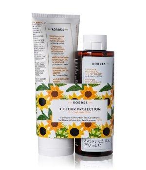 Korres Sunflower & Mountain Tea Collection Zestaw do pielęgnacji włosów