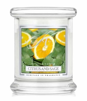Kringle Candle Citrus and Sage Świeca zapachowa