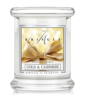 Kringle Candle Gold & Cashmere Świeca zapachowa