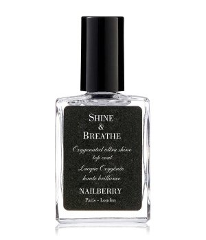Nailberry Shine & Breathe Warst. wierzchnia lakieru do pazn.