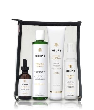 Philip B Four-Step Hair + Scalp Treatment Kit Zestaw do pielęgnacji włosów