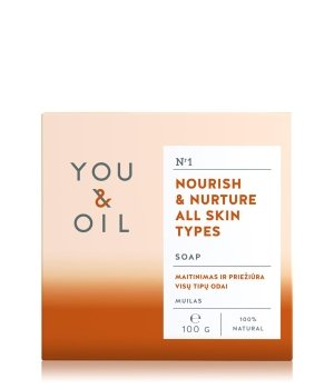 YOU & OIL Nourish & Nurture Mydło w kostce