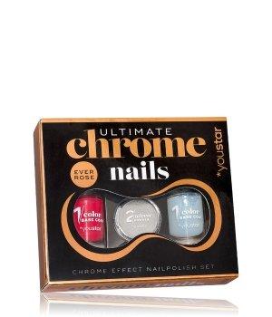 youstar Ultimate Chrome Nails Zestaw lakierów do paznokci