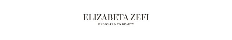 Elizabeta Zefi Dedicated To Beauty Markenbanner transparent marka
