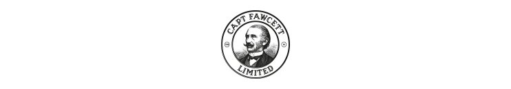 Captain Fawcett transparent marka