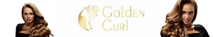 Golden Curl Markenbanner transparent marka